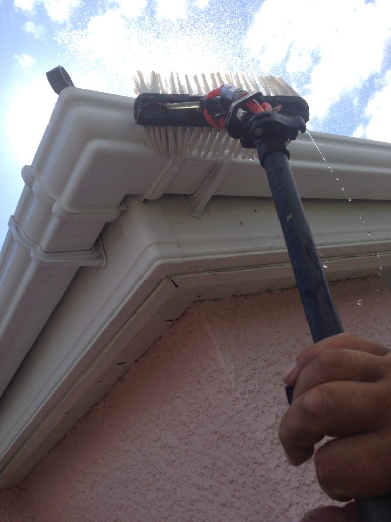 domestic gutter cleaners Swansea Llanelli Carmarthen